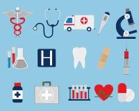 Les graphismes médicaux ont placé Vecteur Photo libre de droits
