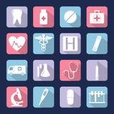Les graphismes médicaux ont placé Vecteur Photos stock