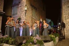 Les groupes des femmes (klapa) Neverin Image libre de droits