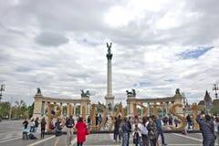 Les h?ros ajustent ? Budapest, Hongrie images libres de droits