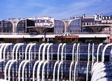 Les Halles de Paris shopping centre. Royalty Free Stock Photo