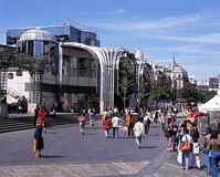 Les Halles de Paris shopping centre. Stock Image