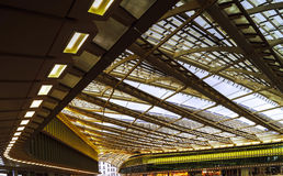 Les Halles metro station and shopping mall cupola Royalty Free Stock Photography