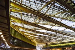 Les Halles metro station and shopping mall cupola Stock Images