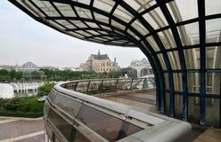 Les Halles in Parijs Stock Afbeeldingen