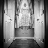 Les hausses de Ghost Images stock
