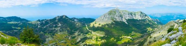 Les hautes montagnes Images stock