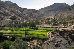 Les hautes montagnes d'atlas au Maroc Photographie stock