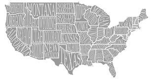 Les hauts Etats-Unis décoratifs détaillés semblables vides tracent sur le blanc Photo stock