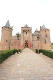 Les Hollandes : Muiderslot, un château de conte de fées Photographie stock