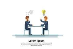 Les hommes d'affaires groupent le bureau créatif fonctionnant de Team Business People Sitting Office Photographie stock libre de droits