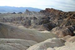 Les horizontaux visualisent dans Death Valley images libres de droits