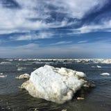 Les icebergs Photo libre de droits