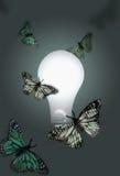 Les idées attirent la richesse Photographie stock