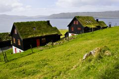 Les Iles Féroé Photo libre de droits