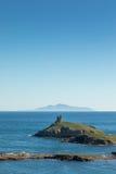 Les Iles Finocchiarola fuori dalla costa di Cap Corse in Corsica Fotografie Stock Libere da Diritti