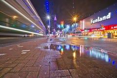 Les illuminations de Blackpool Images libres de droits