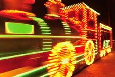 Les illuminations de Blackpool forment le tramway images libres de droits