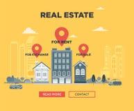 Les immobiliers Photos libres de droits