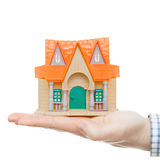 Les immobiliers, les prêts, le logement et toutes les choses ont rapporté - le rapport 1 à 1 image stock