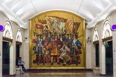 Les intérieurs de la station de métro photos libres de droits