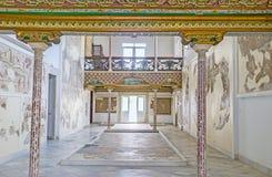Les intérieurs du musée de Bardo Photo libre de droits