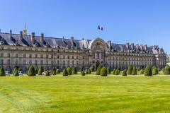Les Invalides在巴黎。 免版税库存图片