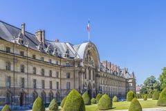 Les Invalides在巴黎。 图库摄影