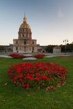 Les Invalides,巴黎 免版税库存图片