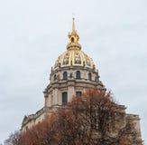 Les Invalides à Paris Photos stock