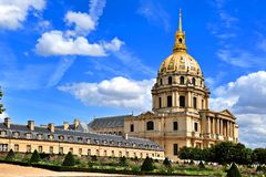 Les Invalides à Paris, France photos stock