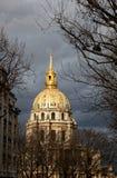 Les Invalides в Париже, франция Стоковое фото RF