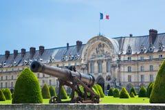 Les Invalides, Париж, Франция. Стоковые Изображения