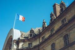 Les Invalides - прогулки города Парижа Франции путешествуют всход Стоковые Фото
