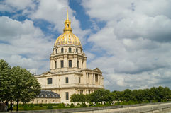 Les Invalides Stock Photo