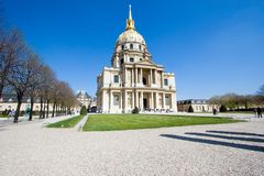 Les Invalides Royalty-vrije Stock Fotografie