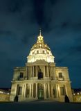Les Invalides. Dome of Les Invalides in Paris, France Royalty Free Stock Image