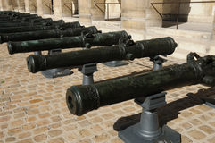 Les Invalides, Armeemuseum in Paris Lizenzfreies Stockfoto