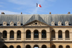 Les Invalides, army museum in Paris Stock Photography
