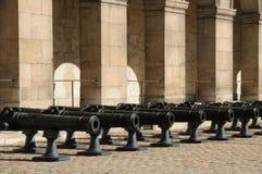 Les Invalides, army museum in Paris Stock Photo
