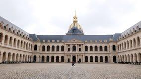 Les Invalides of Paris France stock image