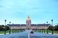 Les Invalides building in Paris Royalty Free Stock Images