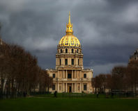 Les invalides buildings Stock Image