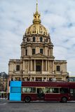 Les Invalides cathedral royalty free stock photos