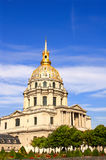 Les Invalides - complex of museums and tomb of Napoleon Bonapart Royalty Free Stock Image