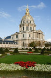 Les Invalides is a complex of museums and tomb in Paris Stock Photos