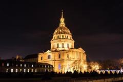 Les Invalides del hotel en París Fotografía de archivo libre de regalías