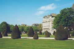 Les Invalides - den Paris Frankrike staden går loppforsen Royaltyfri Fotografi