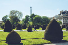 Les Invalides - den Paris Frankrike staden går loppforsen Royaltyfri Foto