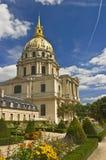 Les Invalides do hotel em Paris Imagem de Stock Royalty Free